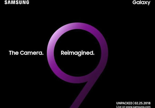 SAMSUNG GALAXY S9 SOON